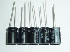 50Pcs 16V680uF 16V HD Nichicon Capacitor 10x16 Lower impedance at high frequency