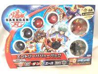 Sega Toys Bakugan Entry Value Pack Set BBT-01 Unopened Japan 10291