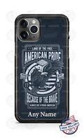 American Patriotic Pride Custom Design Phone Case For iPhone Google Samsung LG