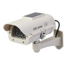 Silverline 614458 alimentato a energia solare TELECAMERA CCTV finta con LED Solare
