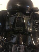 Star Wars Death Trooper Costume Back Stormtrooper Disney Nwt Sz 9/10