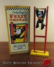 MIB Schylling Felix the Cat Acrobat Doll Determined Productions