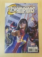 Champions #1 Alex Ross Variant 1/100 9.8 Minty CGC It!!