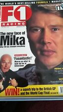 F1 racing magazine Mika Halloween July 1998