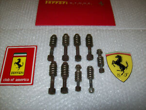 308-Gts-Ferrari 328-Gts Exhaust bolt's Oem Part.