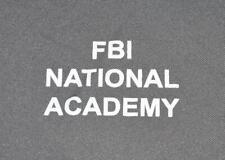 Federal Bureau of Investigation FBI National Academy Quantico 5.11 PT Shirt - XL