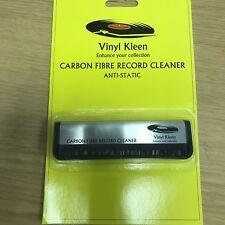 Premium Anti-Static Carbon Fibre Vinyl / Record Cleaning Brush Fibre Free P&P