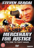 Steven Seagal, Luke Goss-Mercenary for Justice (UK IMPORT) DVD [REGION 2] NEW