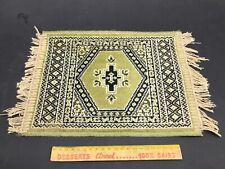 ancien petit tapis rectangulaire motif persan bon état / VINTAGE kilim turque ?