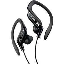 JVC Haeb75b Black Sports Adjustable Ear Clip Earphones Headphones Gym Running
