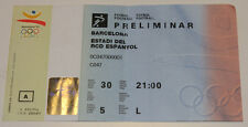 Ticket collectors Olympic Barcelona 1992 Football Sweden - South Korea