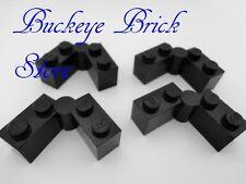 LEGO Black Hinge Hinged Brick 1x4 Swivel Lot/4 4707 7785 8894 4480 6897 6286