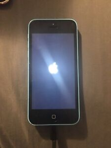 Apple iPhone 5C Blue --A1456-- SOLD AS IS for Parts or Repair