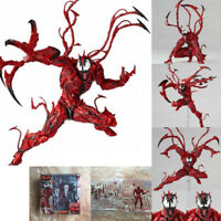 Marvel Carnage Red Venom Edward Brock Action Figure Model Bday Toys Gift Collect