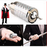 MAGIC POCKET STAFF- Stainless Steel Portable Martial Arts Metal Staff Magic Wand