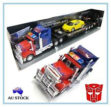 2 RC TOY Transformers Optimus Prime Radio Remote Control Truck Action Figure Car