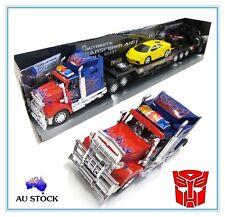 2 RC TOY Transformers Optimus Prime Radio Remote Control Truck Action Figure Car