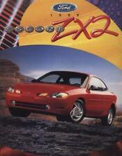1998 Ford Escort Red ZX2 CDN Sales Brochure Book