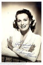 Maureen O`Hara  ++Autogramm++ ++Hollywood Legende++