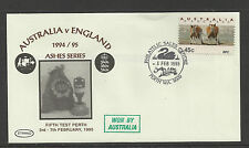 AUSTRALIA v ENGLAND ASHES 1994/95 SERIES 5th TEST MATCH PERTH WA SWAN COVER