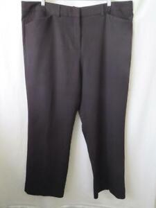 Basque City Myer Womens Black Wide Leg Dressy or Corporate Wear Pants - Sz 20
