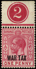 Pre-Decimal George V (1910-1936) Bahamian Stamps