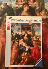 """Ravensburger """"The Rosary Celebration"""" by Durer 1000 pc Puzzle (Complete/Used)"""