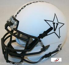 VANDERBILT COMMODORES (WHITE ANCHOR) Schutt XP Mini Helmet