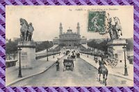 CPA 75 - Paris - Le pont d'Ièna et le trocadero