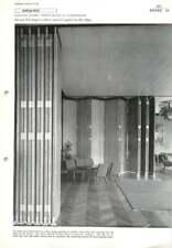 1960 Folding Doors: Restaurant In Copenhagen Eva And Nils Koppel,