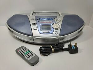 Panasonic RX-ES27 Cassette/CD Boombox Radio Portable With Remote Control