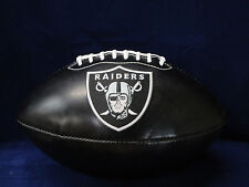 OAKLAND RAIDERS NFL BLACK Football - BRAND NEW Officially Licensed