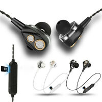 Bass Wireless Bluetooth Earphone Stereo Headset In-Ear Earbuds MP3 Headphones
