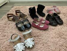 7 Pairs Of Shoes All Size 7 Children's Place, Rachael Shoes, Crocs, Cat & Jack