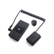 NP-FZ100 Dummy Battery with F970 battery Adapter Mount Plate Spring Cable F Sony