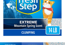 Fresh Step Extreme Scented Litter Gray 14lb