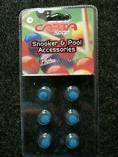 Cartasport BLISTER DI 6 Stick 9 mm o 10 mm Blue Diamond Snooker suggerimenti
