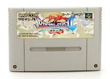"Nintendo SUPER FAMICOM NTSC-J ""strips of Fire II 2-Shimei no ko"" solo modulo"