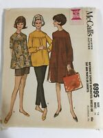 .1960's VINTAGE SEWING PATTERN McCALL'S 6995 Misses Size 16 Bust 36 MATERNITY