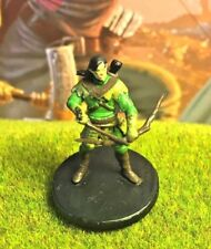 Wood Elf Archer D&D Miniature Dungeons Dragons pathfinder rage ranger fighter 34