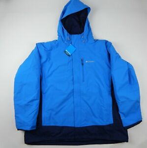 Columbia Lhotse 3 III Interchange Jacket 3-in-1 Insulated Winter Men's 4X Big