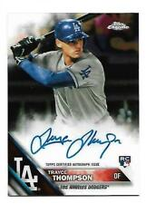 Trayce Thompson 2016 Topps Chrome Rookie Autograph #RA-TTH  Dodgers Auto RC