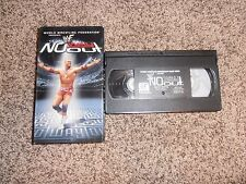 NO WAY OUT 2001 wwf vhs NON-RENTAL wrestling SHIP WORLDWIDE