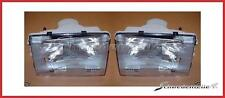 headlamp set (LH+RH) volvo 240 headlight set (left + right headlight) volvo