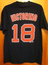 BOSTON RED SOX med T shirt Shane Victorino baseball tee 2013 Flyin' Hawaiian #18