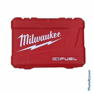 Milwalkee 2897-22 M18 Fuel 2 Tool Combo Kit Hard CASE ONLY CASE ONLY CASE ONLY