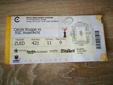 Ticket : Cercle Brugge - RSC Anderlecht 26.01.2020
