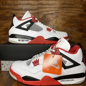 Air Jordan 4 Fire Red 2020 Size 12 Ds Og All New Fire Red 4s In Hand