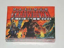 JASON TAGMIRE'S MAXIMUM THROWDOWN CARD GAME *NEW!* AEG