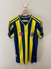 FENERBAHCE 2014-15 Home Shirt (Medium) Adidas Vintage Retro Football Shirt